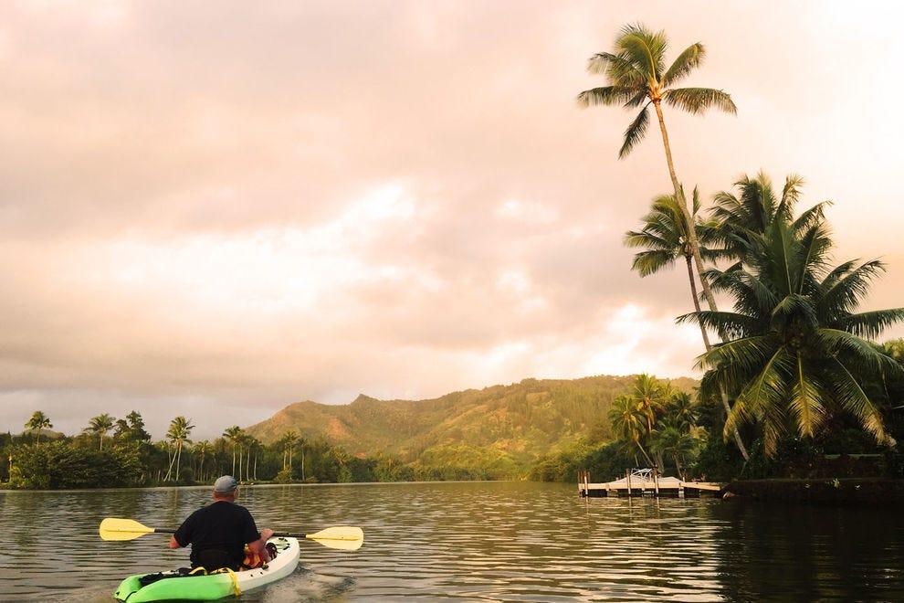 Kayaking Wailua River