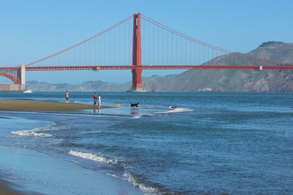 The iconic Golden Gate Bridge is the perfect backdrop for a weekend in San Francisco
