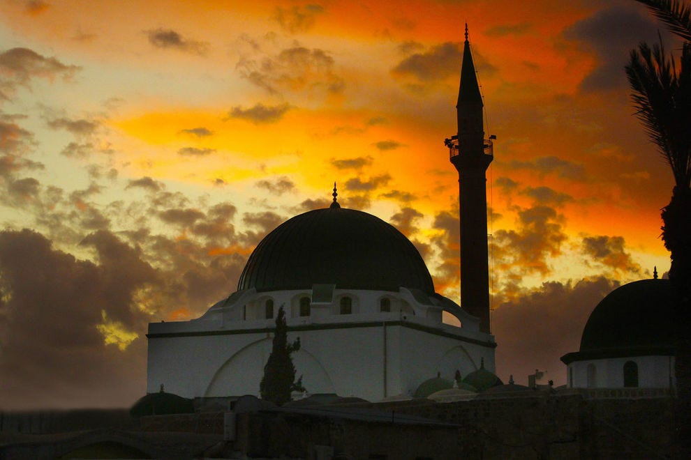 Sunset over Mosque