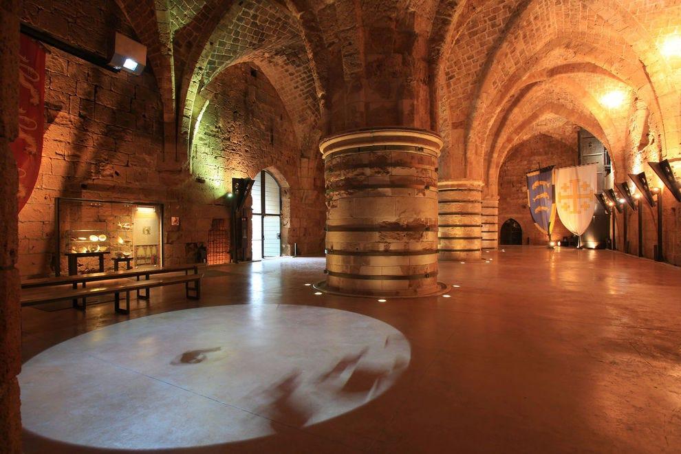 Crusader Dining Hall at Hospitaller Fortress