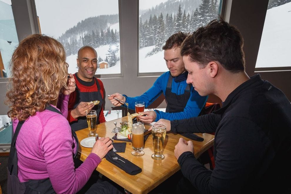 Winning restaurant is known for their signature burger served with amazing mountain views