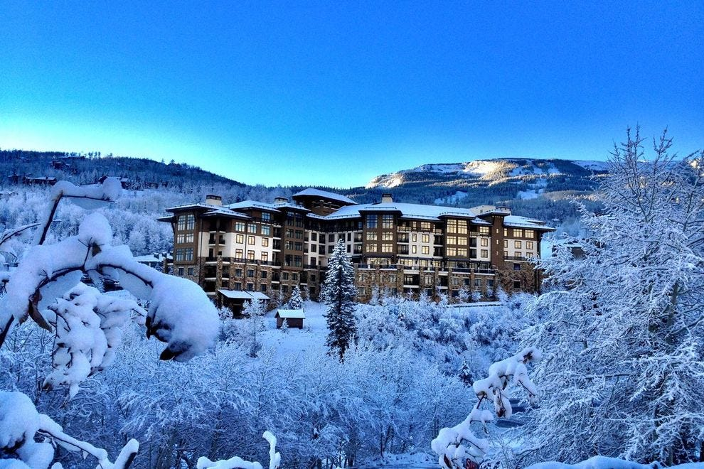 Find this winning hotel at the base of Snowmass near downtown Aspen