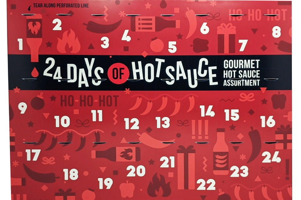Spice up the season with 24 Days of Hot Sauce