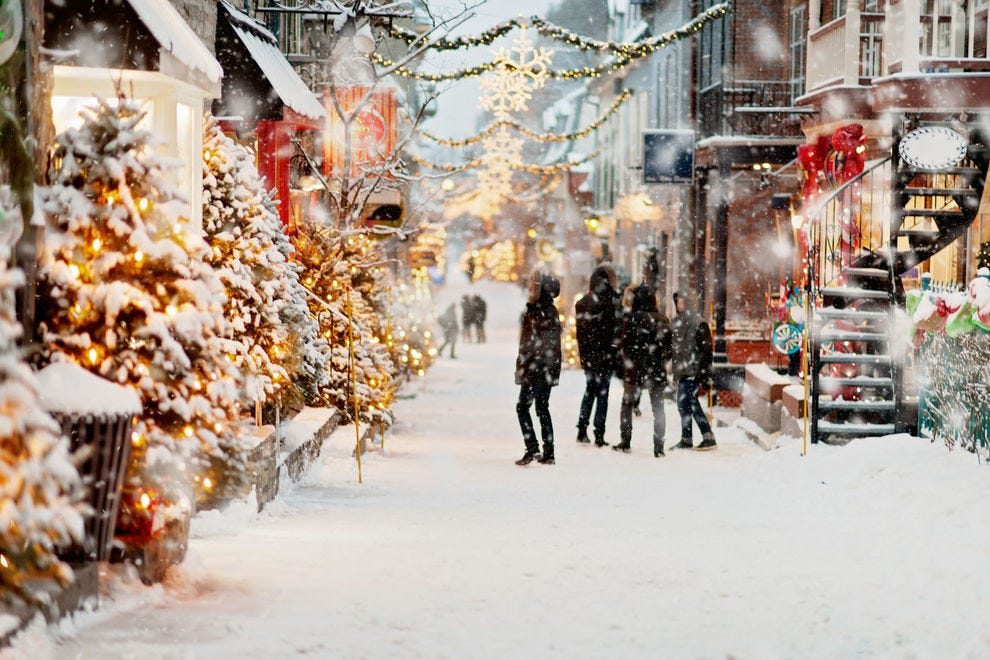 Winter in Old Quebec
