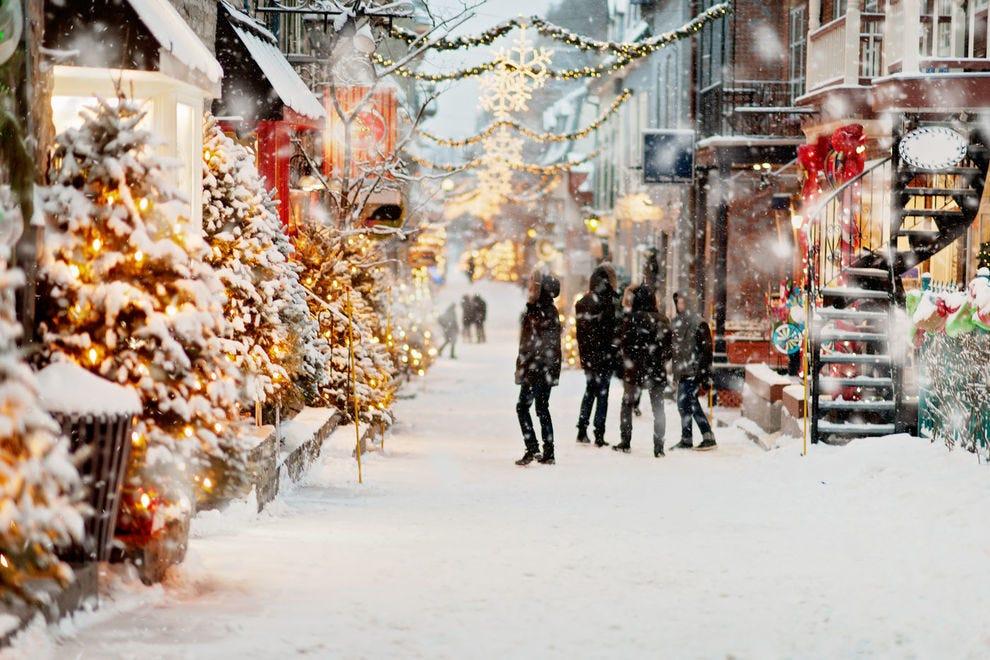 Winter in Old Quebec