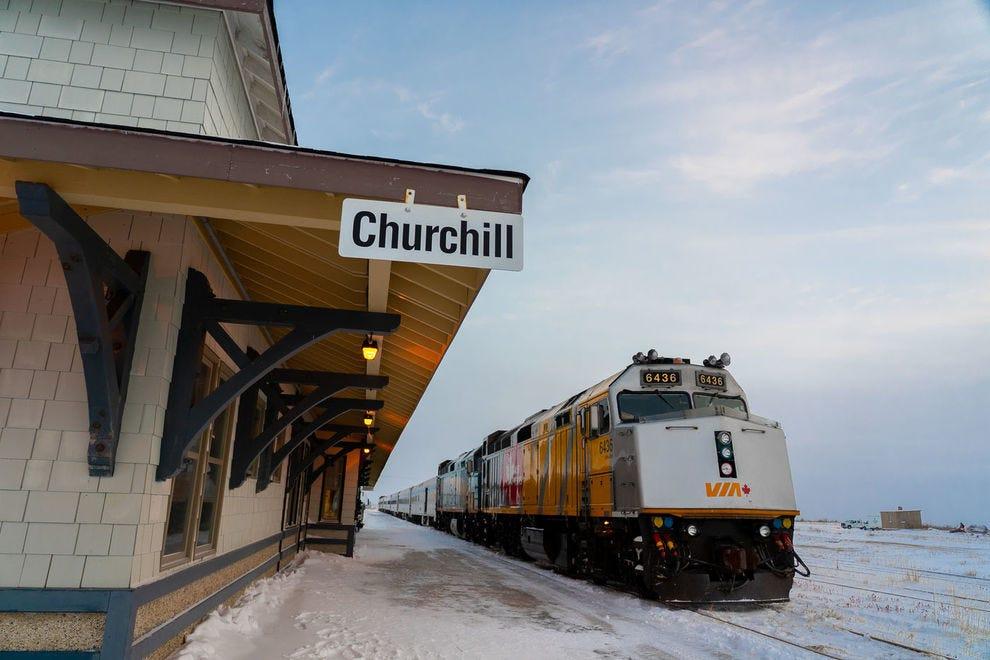 Churchill Train Station