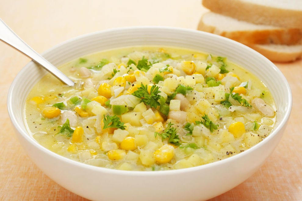 New England has clam chowder; Iowa has corn chowder