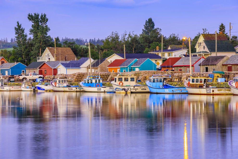 Rustico Harbour on Prince Edward Island