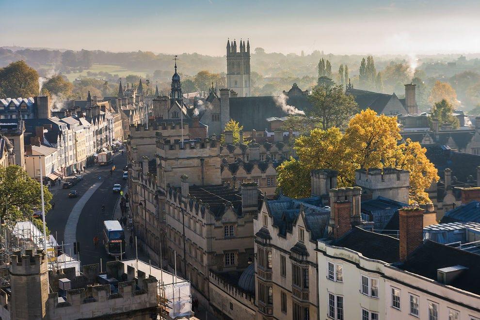 City of Oxford, England