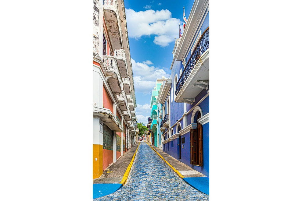 Calle de O'Donnell in Old San Juan