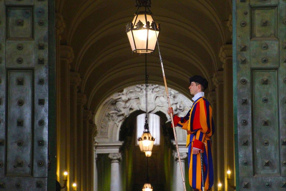 Swiss Guard in the Vatican