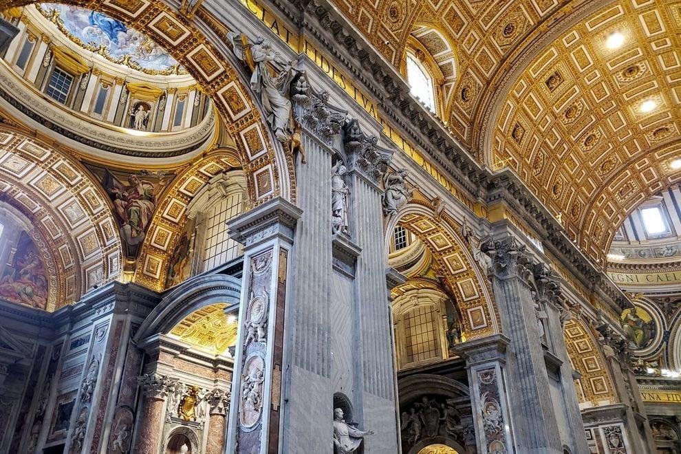 Beautiful artwork of the Vatican