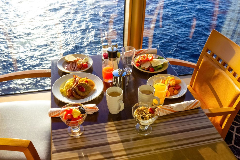 Cruise passengers have more choice than ever when it comes to food
