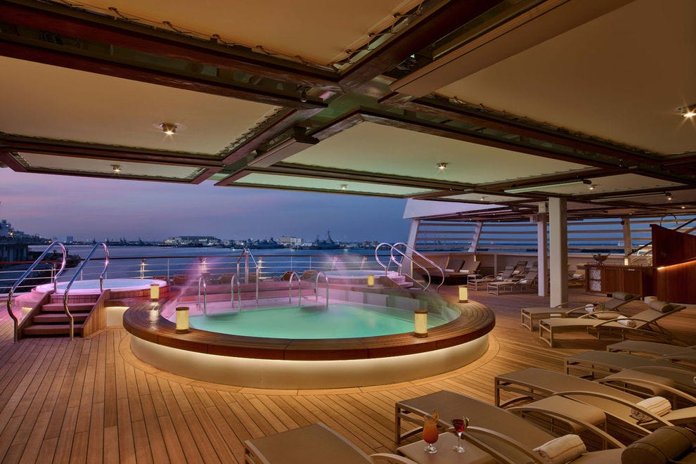 Ships with fewer than 1,000 passengers offer a more intimate atmosphere