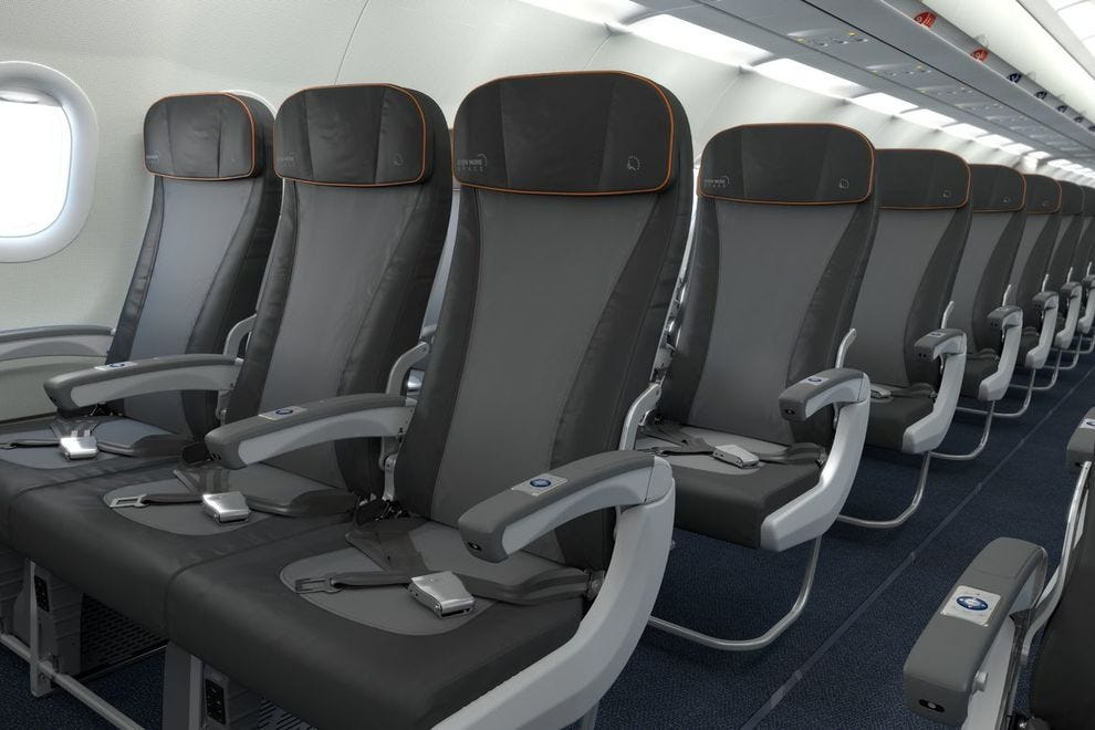 Readers choose JetBlue for its economy class