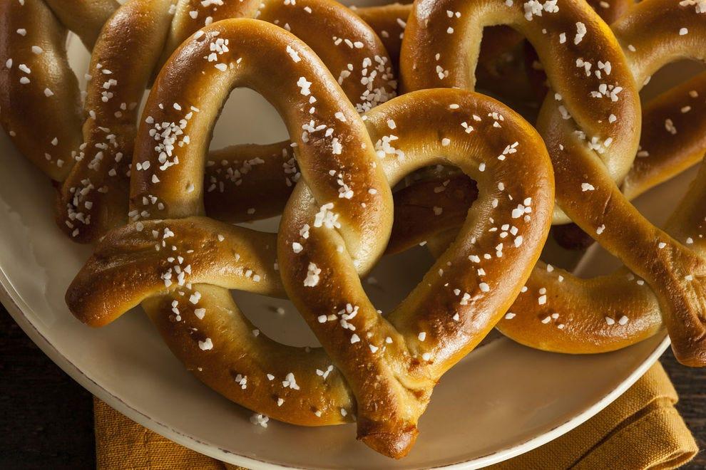 Nothing beats a salted, sourdough pretzel