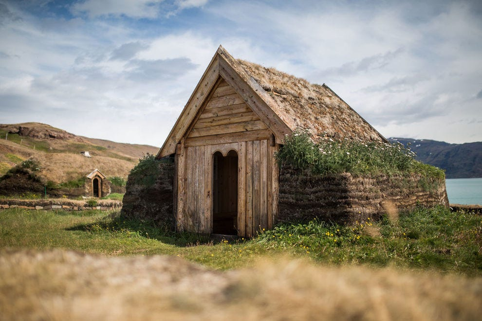 Tjodhilde's church - a reconstruction of church from the norse presence in Greenland 1,000 years ago