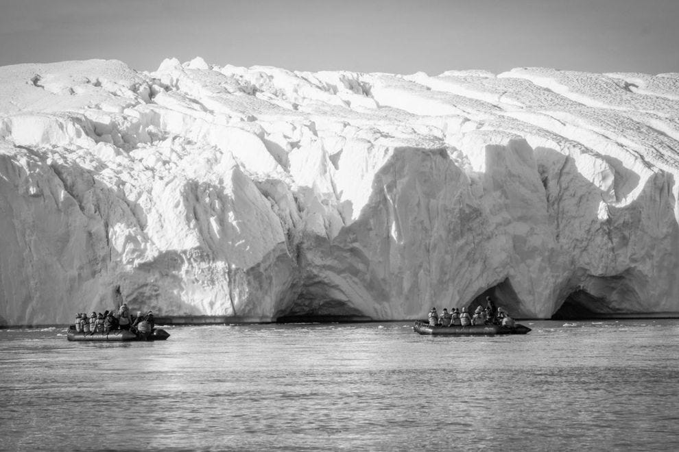 Ilulissat Icefjord Zodiacs