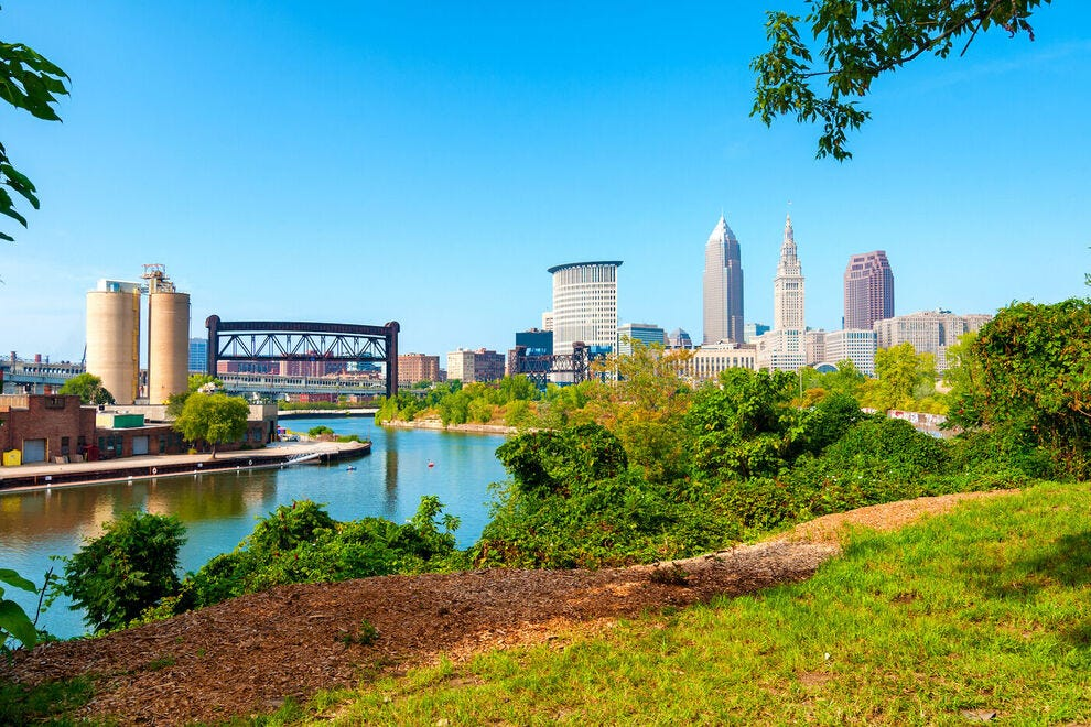 Paddle in Cleveland on 20 miles of river