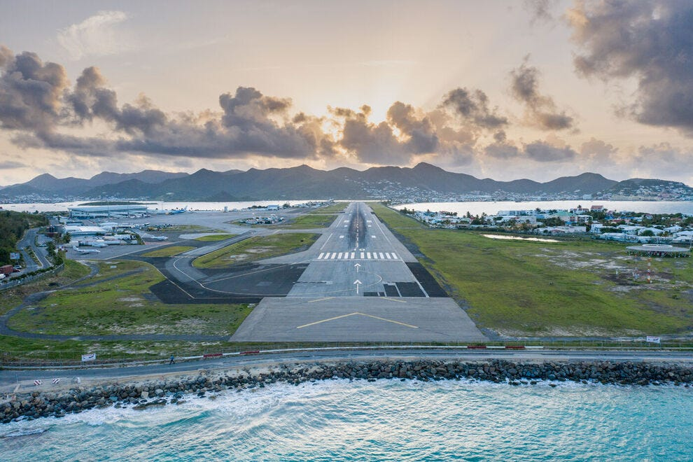 Luchthaven Maho Beach
