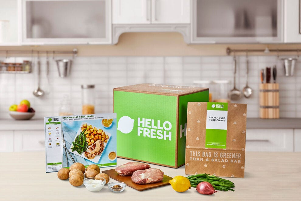 This is the second win for HelloFresh