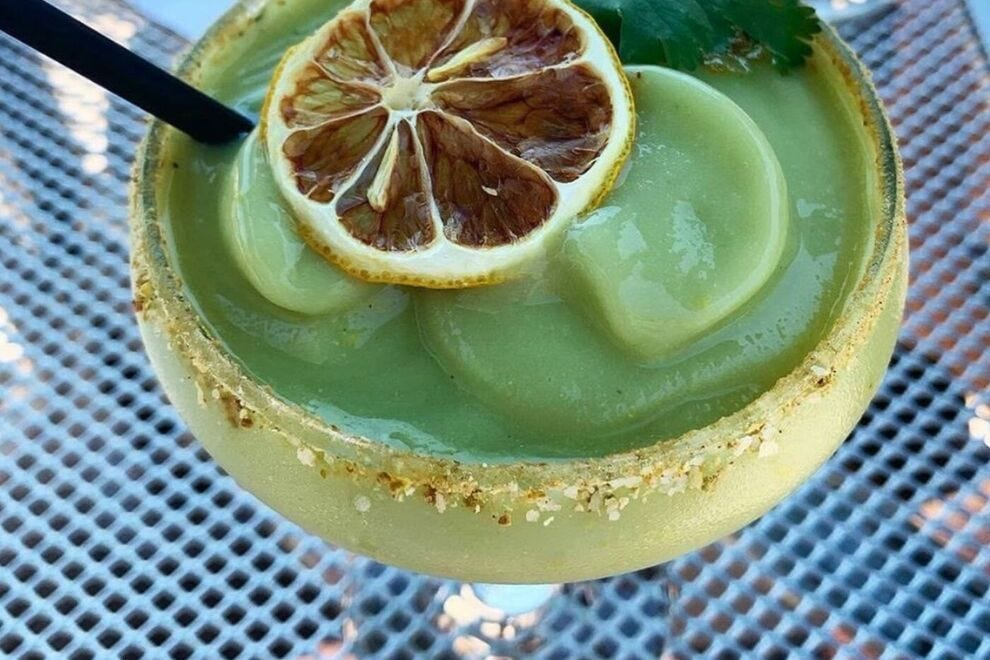 AVO is known for both its creative drinks and equally creative dishes