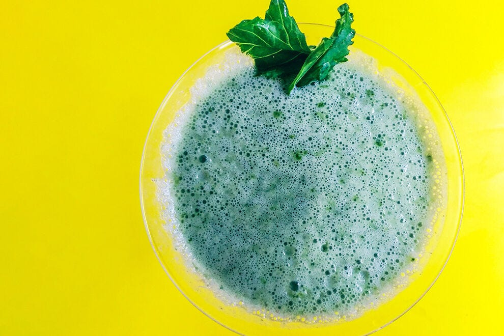 Drink your veggies with this simple and delicious smoothie recipe
