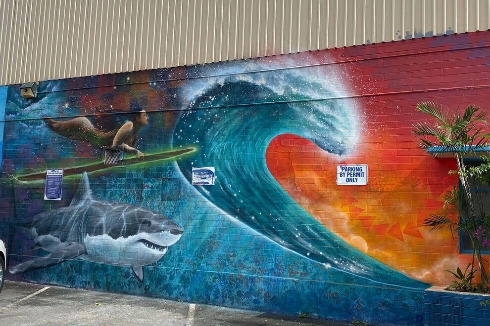 Mural at Kaka'ako, Oahu