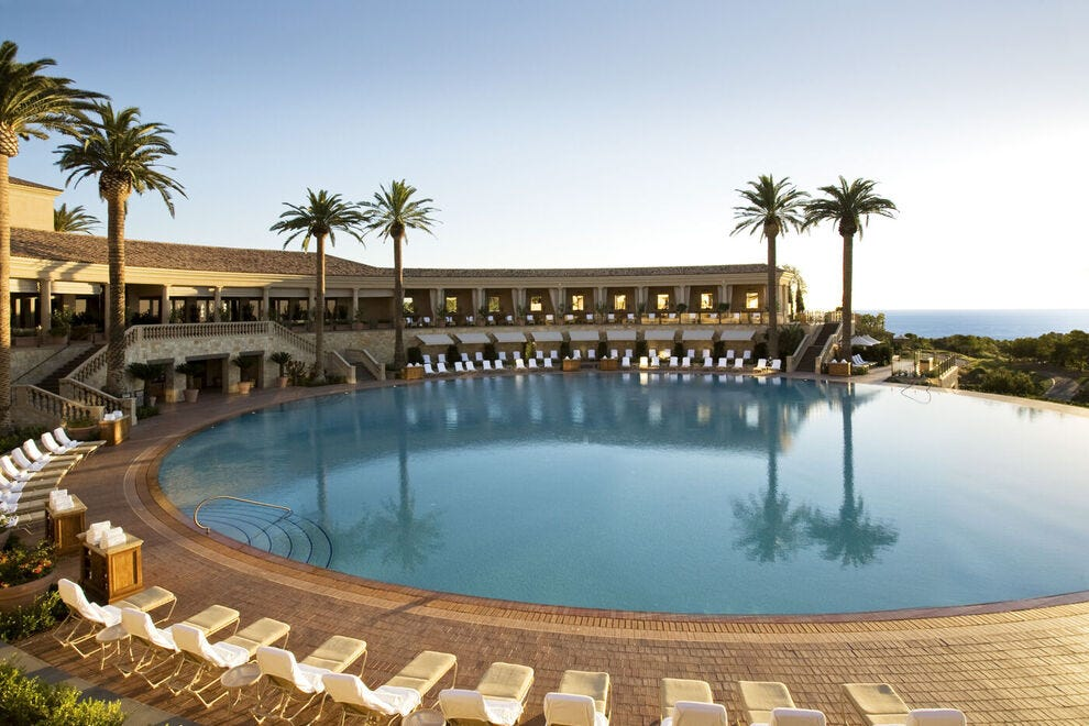 The Coliseum Pool at The Resort at Pelican Hill in Newport Beach