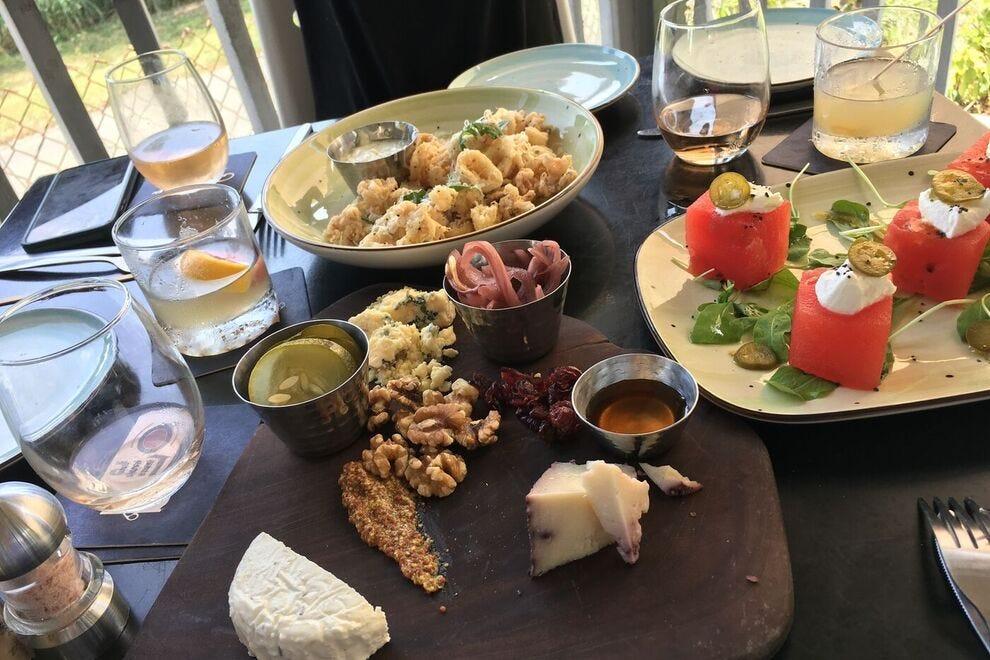 A range of appetizers at Salt
