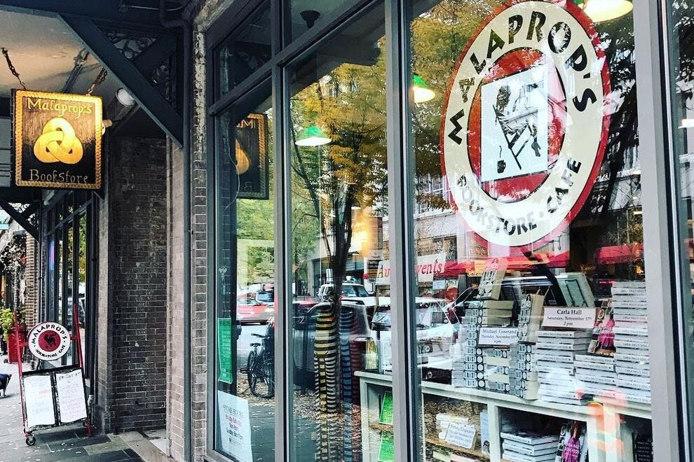 Malaprop's Bookstore/Cafe in Asheville