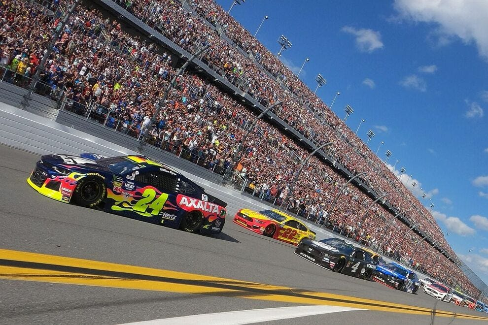 There is nothing like attending a NASCAR event in person