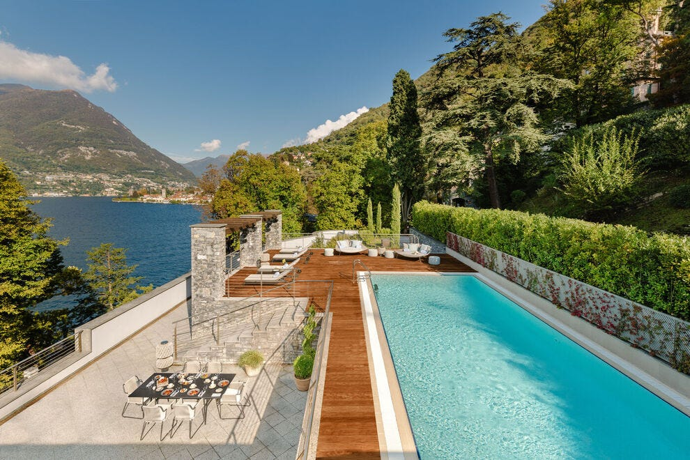 Suite con Piscina Privata al Mandarin Oriental Lake Como