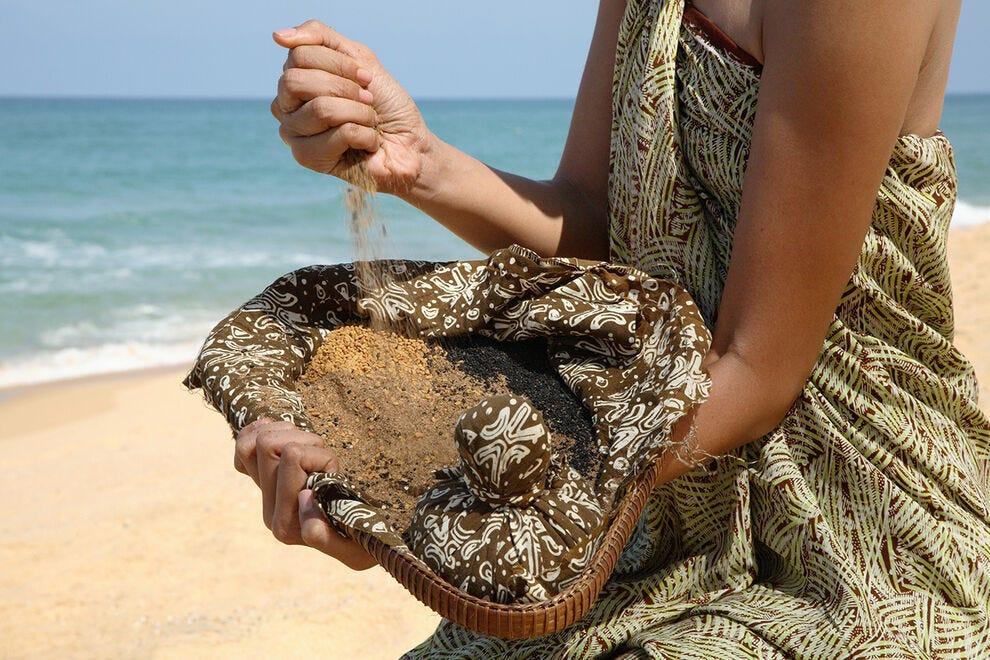 Trattamenti di sabbia riscaldati, Tanjong Jaya