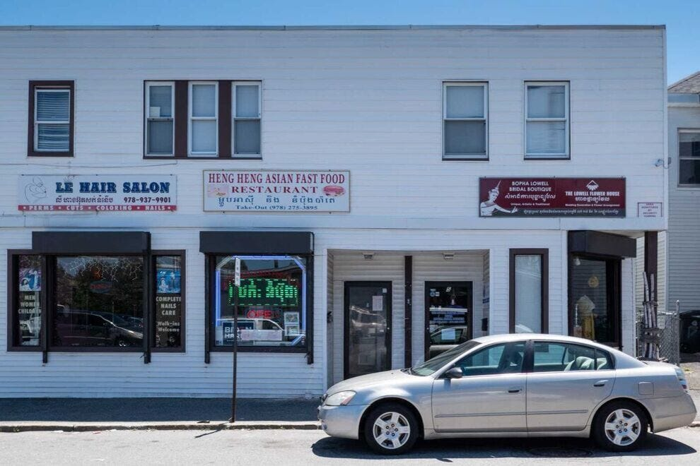 There are dozens of Cambodian-owned business in Lowell