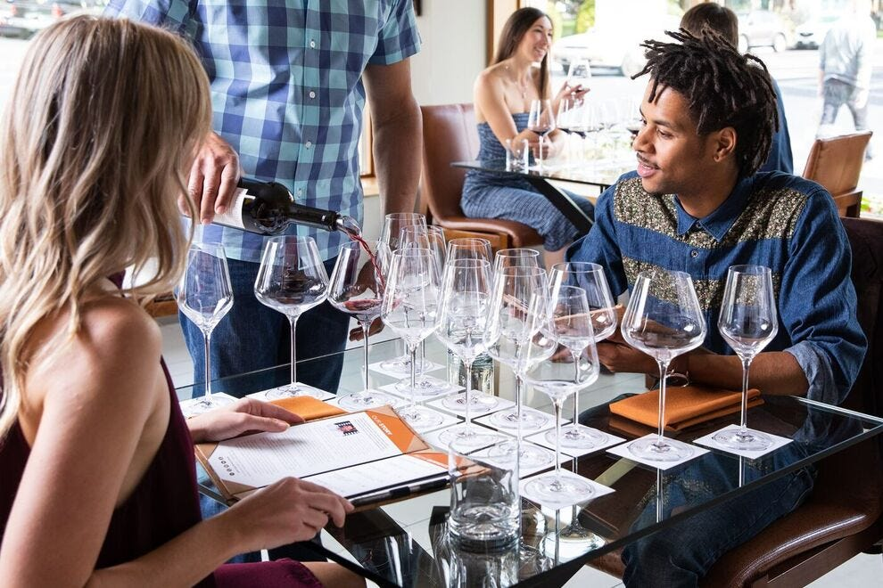 Tasting rooms offer fascinating experiences
