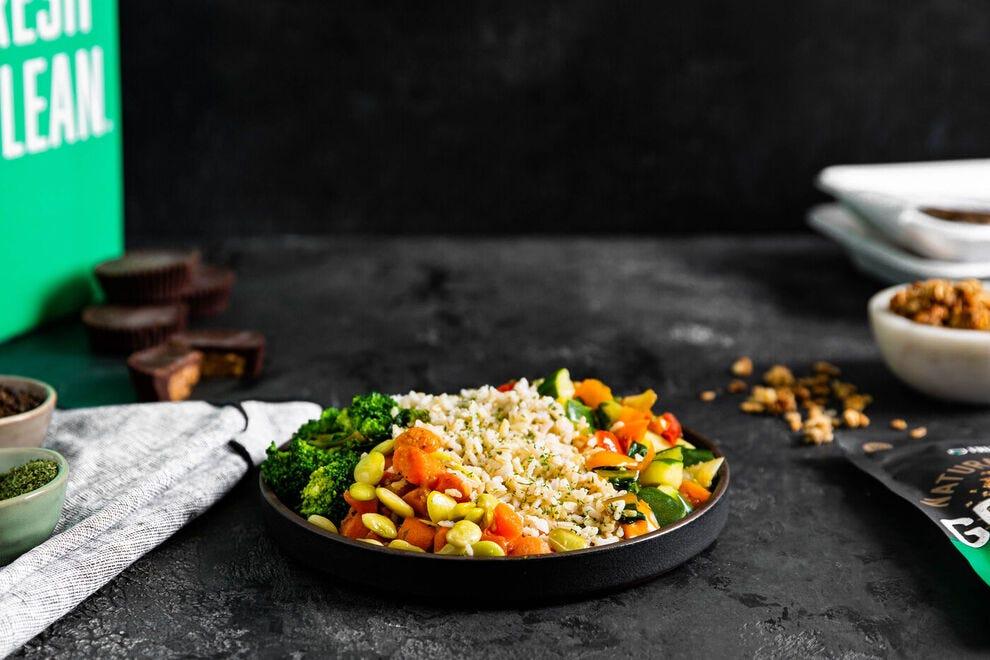 Vegan meal from Fresh 'N Lean