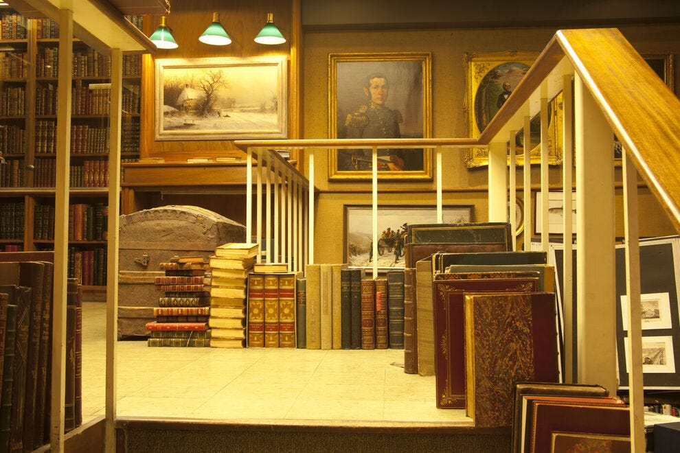 Argosy Book Store in NYC