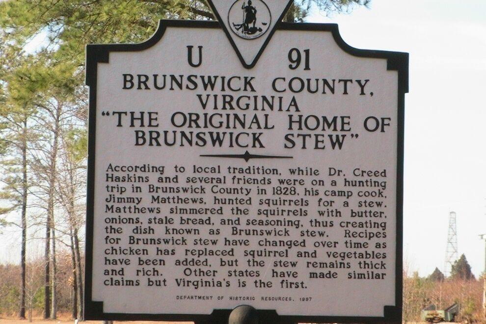 Home of Brunswick stew?