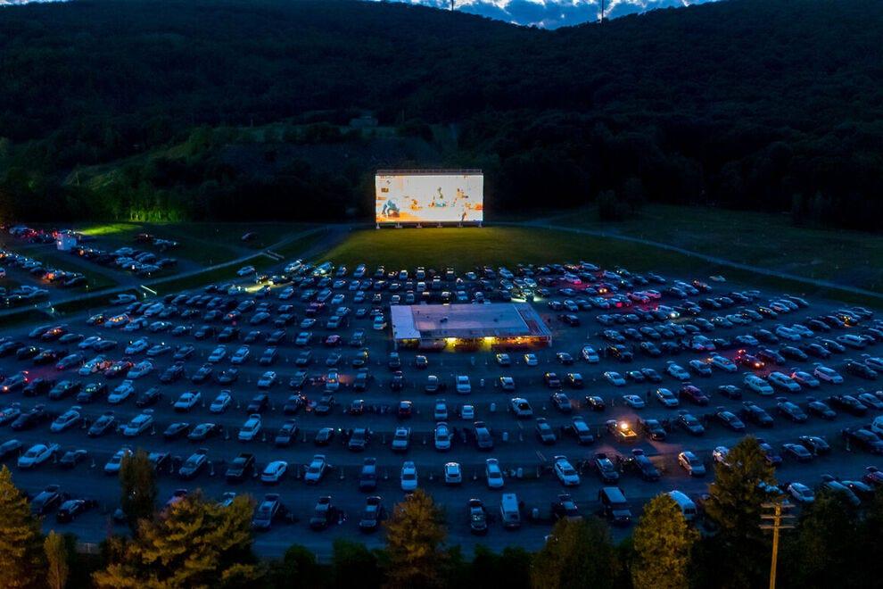 Circle Drive-In Theatre, Scranton, Pennsylvania