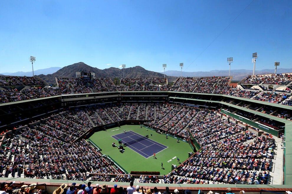 Indian Wells Tennis Gardens hosts the annual BNP Paribas tournament