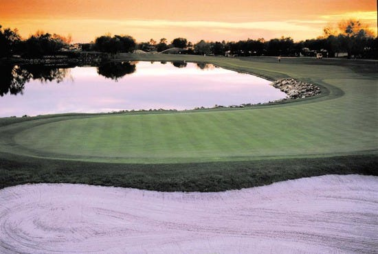 Eighteenth Hole at Bay Hill Club & Lodge Orlando, FL