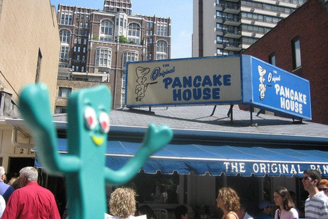 Visit Chicago's Original Pancake House for a plate full of pancakes and all your other breakfast favorites.