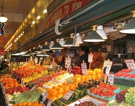 Seattle malls and shopping centers 10best mall reviews for Fresh fish market orlando