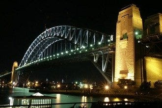 Sydney Harbour Bridge and Pylon Lookout
