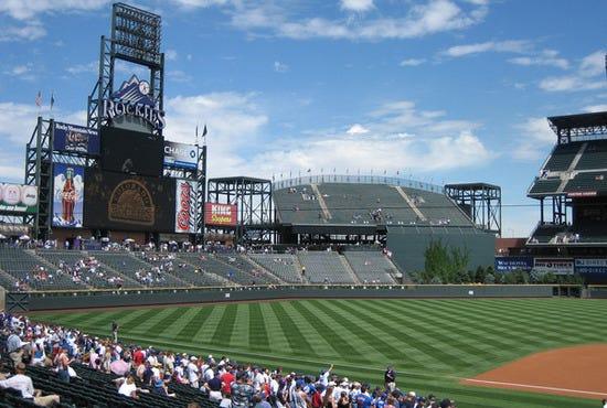 Coors Field Denver Tours