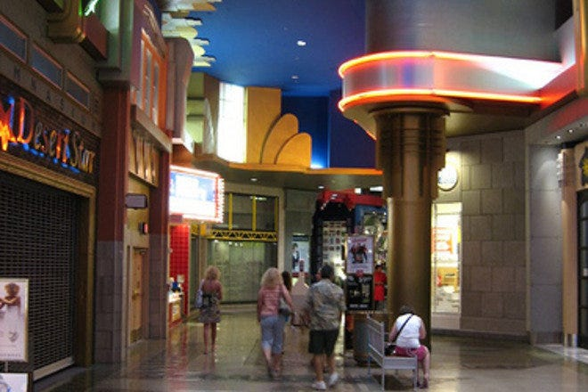 Located adjacent to the hotel, the Tower Shops at Stratosphere in Las Vegas, NV, has numerous shops and dining options