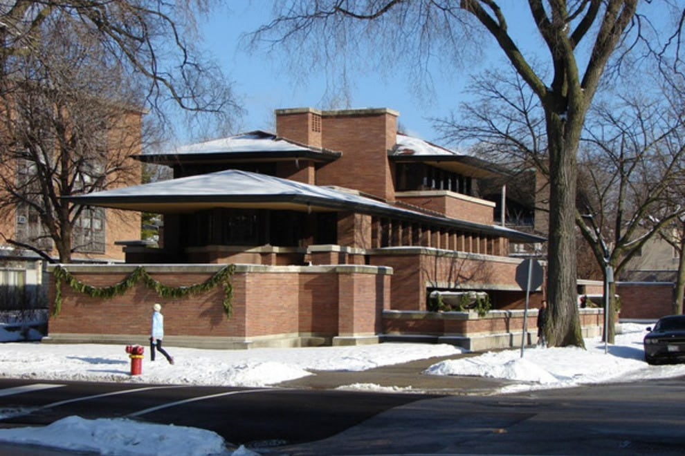Robie house chicago attractions review 10best experts for House architecture styles