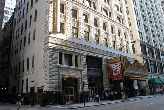 Chicago Majestic Building and Theater