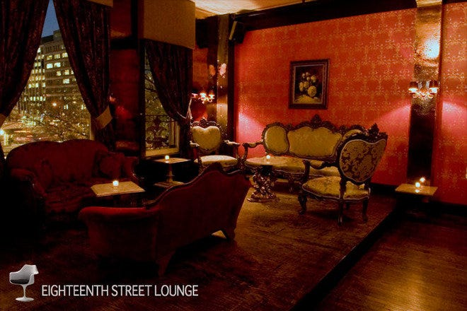 18th Street Lounge and dance club, opened in an 18th century mansion in downtown Washington, DC